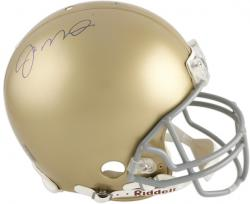 Joe Montana Notre Dame Fighting Irish Autographed Riddell Pro-Line Authentic Helmet