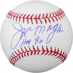 "Joe Morgan Cincinnati Reds Autographed Baseball with ""HOF 90"" Inscription"