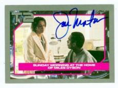 Joe Morton autographed card Terminator 2 #54 Miles Dyson (ip)