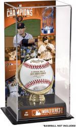 "Joe Panik San Francisco Giants 2014 World Series Champions Gold Glove 10"" x 5.5"" Baseball Display Case"