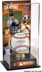 "Joe Panik San Francisco Giants 2014 World Series Champions Gold Glove 10"" x 5.5"" Baseball Display Case"