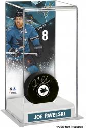 Joe Pavelski San Jose Sharks Deluxe Tall Hockey Puck Case
