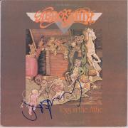 Joe Perry Aerosmith Autographed Toys in the Attic Album - JSA