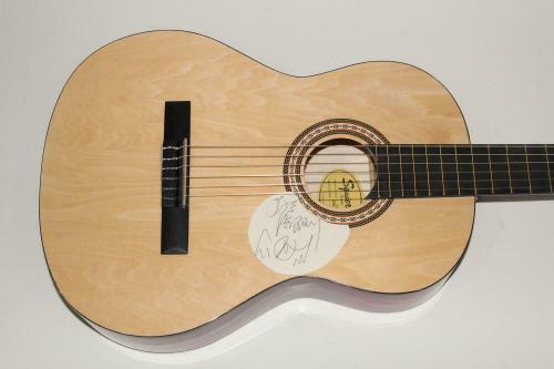 Joe Perry Signed Autograph Fender Brand Acoustic Guitar W/ Sketch - Aerosmith