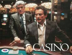 Joe Pesci Signed Casino Authentic Autographed 8x10 Photo PSA/DNA #AD14493