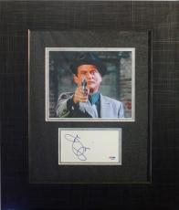 JOE PESCI (Tommy DeVito- Goodfella's) signed/framed display- PSA Authenticated
