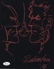 Joe Rubinstein Autograph RARE Wolverine Sketch Signed 8x10 Photo JSA COA