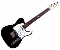 Joe Satriani Autographed Signed Tele Guitar AFTAL UACC RD COA