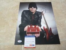 Joe Satriani Chickenfoot Signed Autographed 11x14 Photo PSA Certified #3