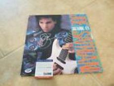 Joe Satriani Dream #11 Autographed Signed LP Record PSA Certified