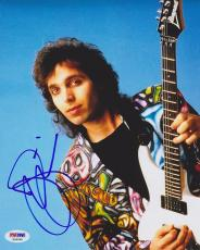 Joe Satriani SIGNED 8x10 Photo FAMED Guitarist PSA/DNA AUTOGRAPHED