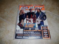 Joe Satriani Signed Autographed 1997 Guitar Magazine PSA Guaranteed
