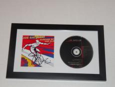 "Joe Satriani Signed Framed ""surfing With The Alien"" Cd Cover Rare"