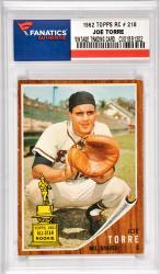 Joe Torre Milwaukee Braves 1962 Topps #218 Card