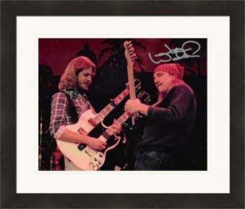 Joe Walsh autographed 8x10 photo (Eagles Guitar Hero) #SC2 Matted & Framed