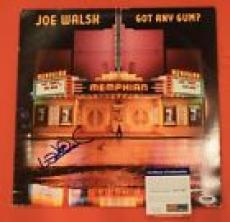 Joe Walsh Signed Autographed GOT ANY GUM LP Record Album The Eagles PSA DNA COA