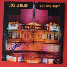 Joe Walsh Signed Autographed Got Any Gym Record Album Lp The Eagles
