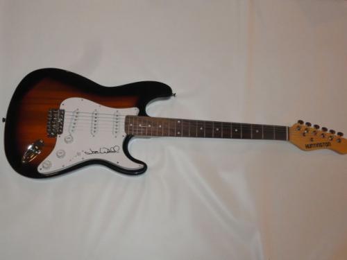 Joe Walsh Signed Sunburst Electric Strat Guitar The Eagles Superstar Jsa Loa