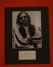 Joe Walsh The Eagles Guitarist Signed Autographed 11x14 Matted Photo Display