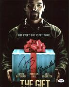 Joel Edgerton & Rebecca Hall The Gift Signed 11X14 Photo PSA #Z92246