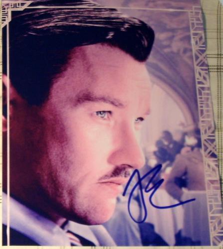 "Joel Edgerton Signed Autograph ""the Great Gatsby"" Promo Poster 8x10 Photo Coa"