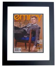 Joel McHale Signed - Autographed 8x10 inch Photo BLACK CUSTOM FRAME - Guaranteed to pass PSA or JSA - COMMUNITY
