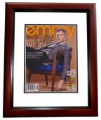 Joel McHale Signed - Autographed 8x10 inch Photo MAHOGANY CUSTOM FRAME - Guaranteed to pass PSA or JSA - COMMUNITY