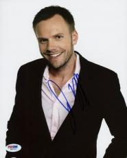 Joel Mchale Community Signed 8X10 Photo Autographed PSA/DNA #W60701