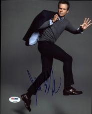 Joel McHale Community Signed 8X10 Photo Autographed PSA/DNA #Z92585