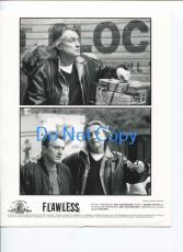 Joel Schumacher Robert De Niro Flawless Original Press Glossy Still Movie Photo