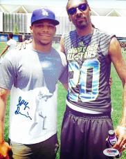 Joey Davis Signed 8x10 Photo PSA/DNA COA Autograph Bellator Picture w Snoop Dogg