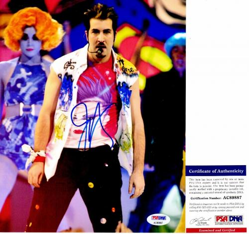 Joey Fatone Signed - Autographed NSYNC 8x10 inch Photo with PSA/DNA Certificate of Authenticity (COA)