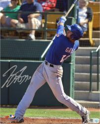 Joey Gallo Texas Rangers Autographed 8'' x 10'' Back Swing Photograph