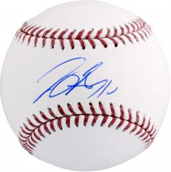 Joey Gallo Texas Rangers Autographed Baseball