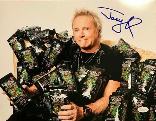 JOEY KRAMER (Aerosmith) authentic signed 11x14 photo JSA P02108