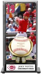 Jay Bruce Cincinnati Reds Baseball Display Case with Gold Glove & Plate