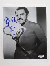 John Astin Signed Riddler Batman Authentic 8x10 Photo (PSA/DNA) #T32667