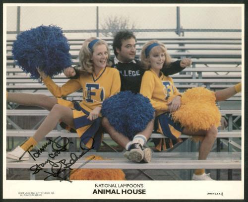 John Belushi Signed Autographed 8x10 Animal House Photograph Beckett BAS