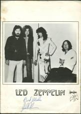 John Bonham Rare Signed Led Zeppelin Promo Press Release Program PSA/DNA #Y01272