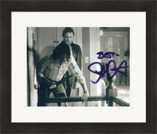 John Carpenter autographed 8x10 Photo (Halloween Jason Voorhees) #SC4 Matted & Framed