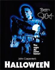 John Carpenter autographed 8x10 photo (Horror Director Halloween) Image #SC3