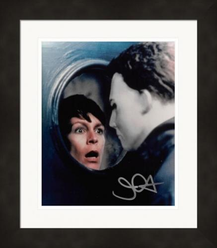 John Carpenter autographed 8x10 photo (Horror Director Michael Myers Halloween II) #SC16 Matted & Framed