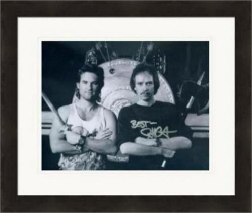 John Carpenter autographed 8x10 photo (Horror Director)  #SC8 Big Trouble in Little China matted & Framed