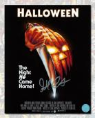 John Carpenter Autographed Halloween Movie Poster 8x10 Photo