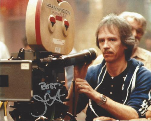 """JOHN CARPENTER -FILM DIRECTOR/SCREENWRITER/PRODUCER- His Work Includes """"HALLOWEEN"""", """"ESCAPE from NEW YORK"""", and """"STARMAN"""" Signed 10x8 Color Photo"""