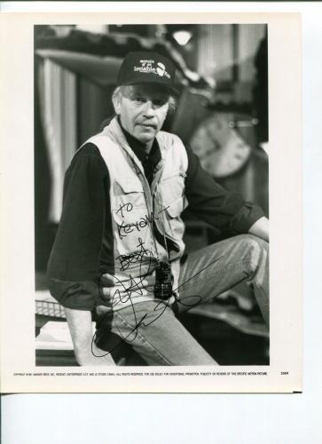 John Carpenter Halloween Escape from New York They Live Signed Autograph Photo