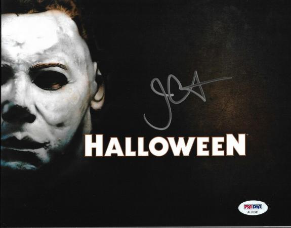 John Carpenter Halloween Horror Director Signed 8x10 Auto Photo PSA/DNA COA (A)