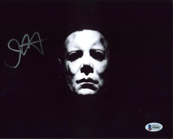 John Carpenter Halloween Signed 8x10 Photo Autographed BAS #F84667