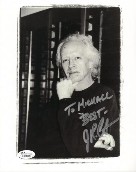 JOHN CARPENTER HAND SIGNED 8x10 PHOTO         HALLOWEEN      TO MICHAEL      JSA