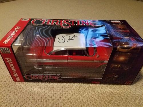 John Carpenter Signed Autographed Christine Diecast 1:18 Car Autoworld Rare!!